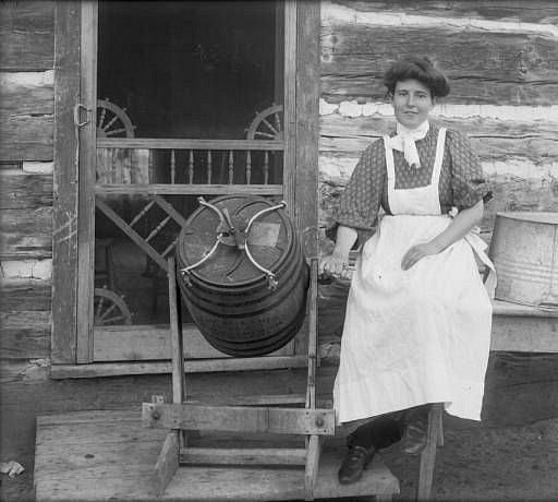 Výroba másla představovala zdlouhavý a náročný proces.
