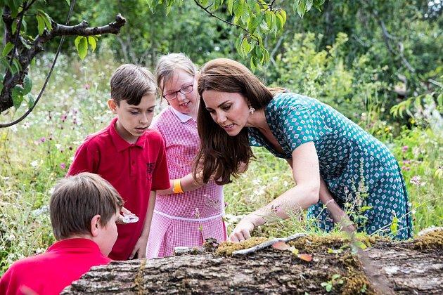 Kate má pod palcem spoustu charitativních projektů.