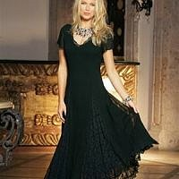 Dlouhé černé šaty