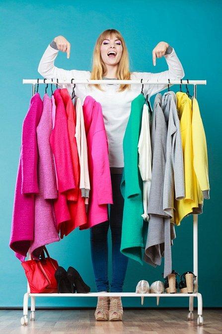 Výběr oblečení ja každodenní boj.