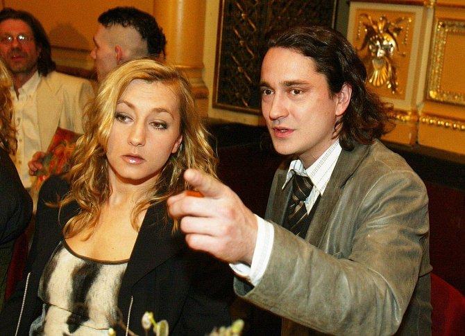 Saša Rašilov s Vandou Hybnerovou
