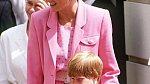 Princezna Diana s princem Harrym