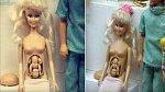 Těhotná Barbie