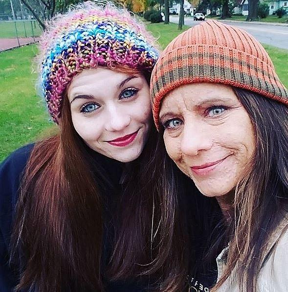 Libby je vděčná osudu za to, že její dcera neurofibromatózou netrpí.