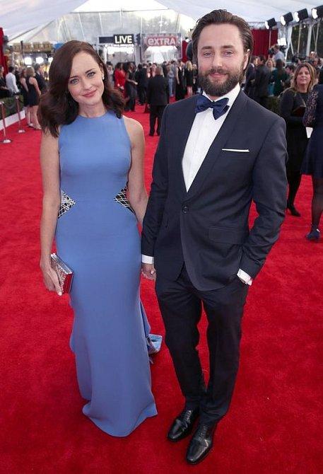 Alexis Bledel s manželem