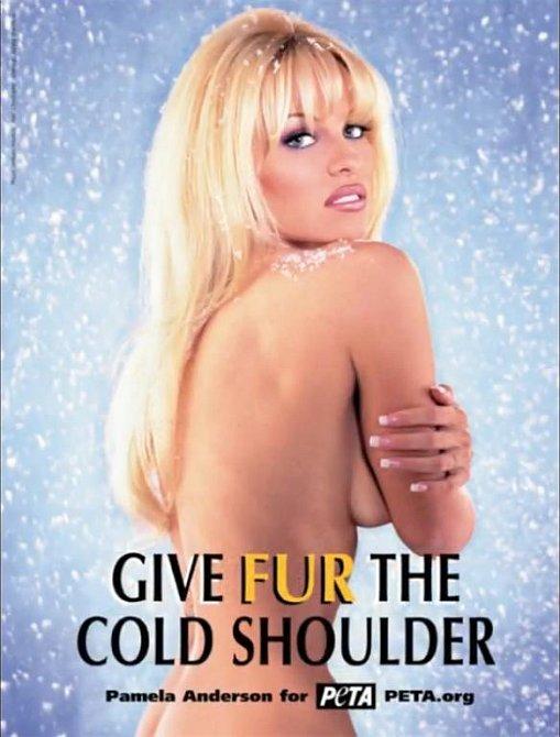 Tito slavní se svlékli pro organizaci PETA - Pamela Anderson