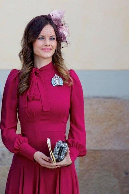 Princezna Sofia má podobný styl jako vévodkyně Kate.