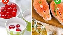 Nízkotučné potraviny versus zdravé tuky - Netrapte se pojídáním nízkotučných potravin, to nikam nevede! Tělo potřebuje zdravé tuky, aby mohlo dobře fungovat. Kupujte se tedy poctivé jogurty a nebojte si dát denně hrst ořechů, třeba ...