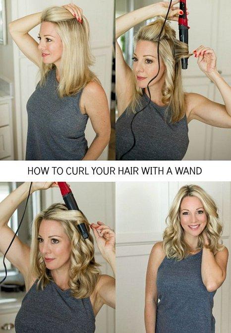 Kulma je jednou z možností, ale je velmi agresivní vůči vlasům.