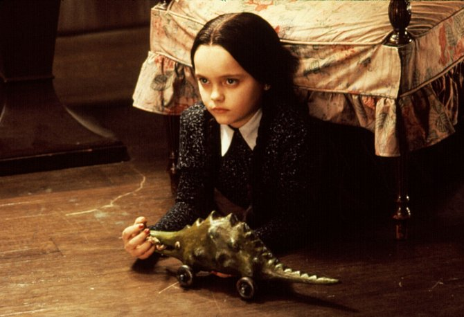 Role Wednesday ve filmu Addamsova rodina Christinu proslavila. Úspěch z dětství dodnes nepřekonala.