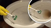 Geniálně jednoduchý návod, jak vyčistit zanesenou záchodovou mísu!