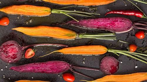 Fialová zelenina
