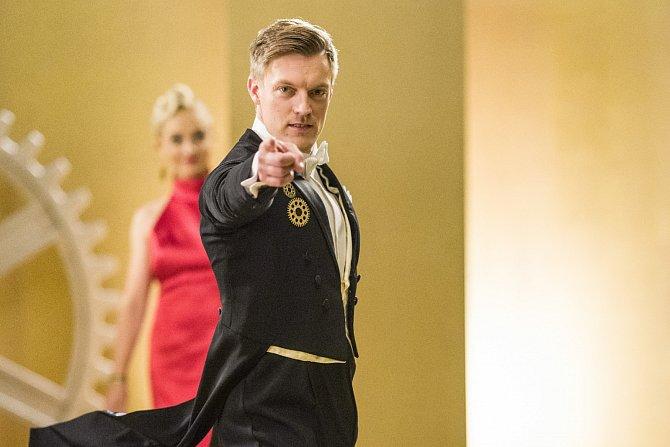 Tomáš Verner a jeho taneční partnerka Kristýna Coufalová.