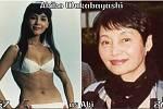 Herečka Akiko Wakabajaši coby Aki