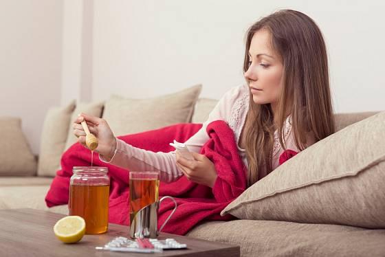 Med je skvělý pomocník při nachlazení.