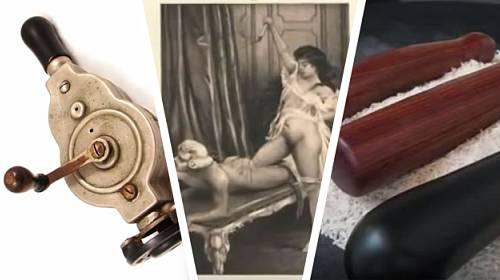 Historie hraček pro dospělé. Čím si naší předci dělali dobře?