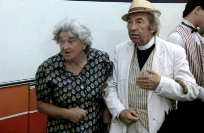 Marie Švecová s Luďkem Kopřivou