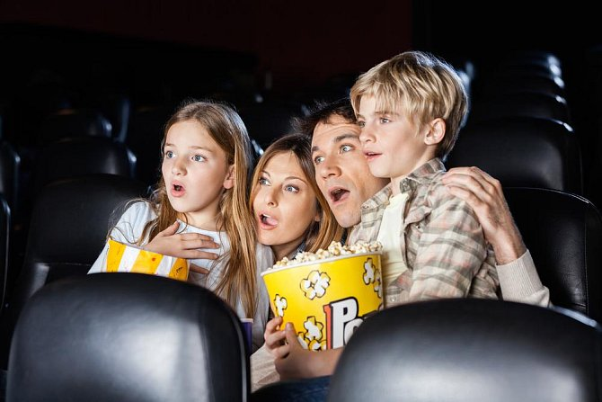Do kina se bude těšit každý malý školák. Cinemacity.cz, děti do 12 let 134 Kč