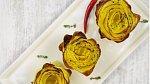 Pečené bramborové růže