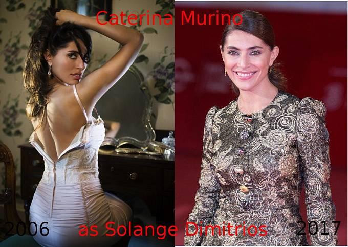 Herečka Caterina Murino coby Solange Dimitrios