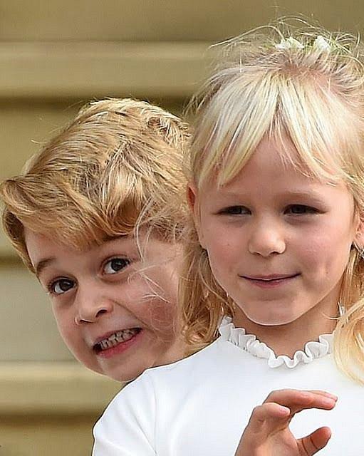 Princ George je mistrem kulišáren.