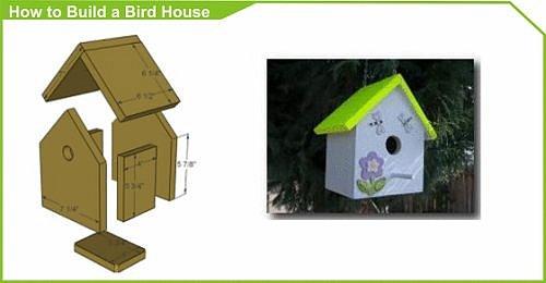 Jak postavit ptačí domek