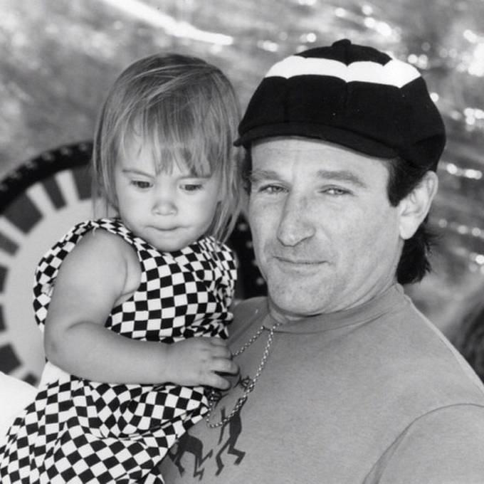 Toto je poslední fotografie, kterou Robin Williams umístil na svůj instagramový účet.