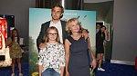 Veronika Stropnická s dcerou Kordulou a synem Vincentem