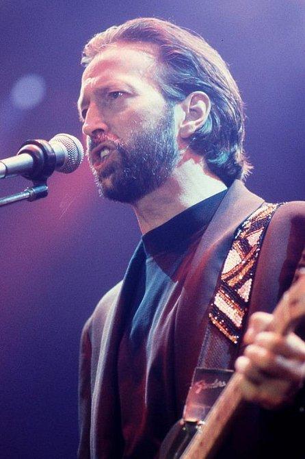 Eric Clapton, britský zpěvák a hudebník