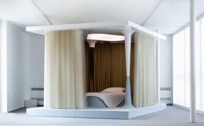 Tato postel je ideální pro terapii.