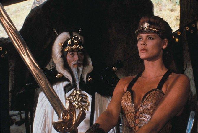 Brigitte ve snímku Rudá Sonja.