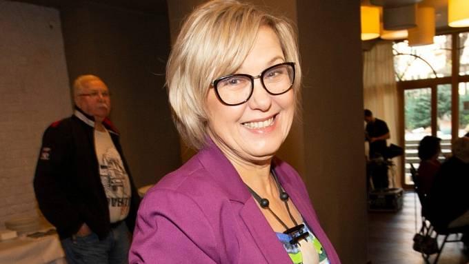 Kateřina Cajthamlová často mění image.