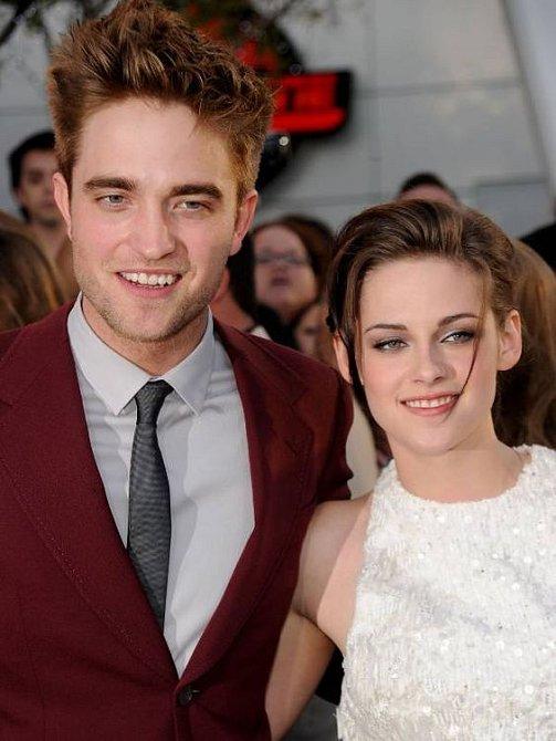 Robert Pattinson a Kristen Stewart spolu dlouho nevydrželi.