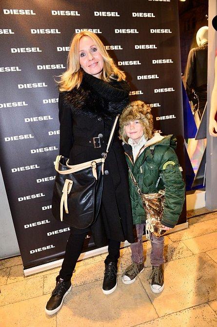 Tereza Pergnerová s dcerou Natálií.