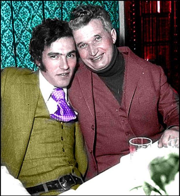 Nicu Ceausescu s otcem