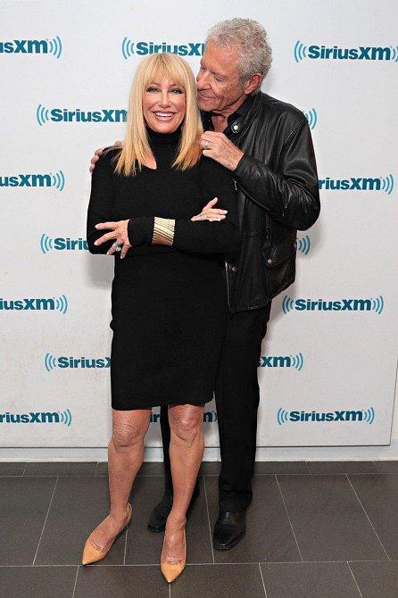 Suzanne Somers s manželem