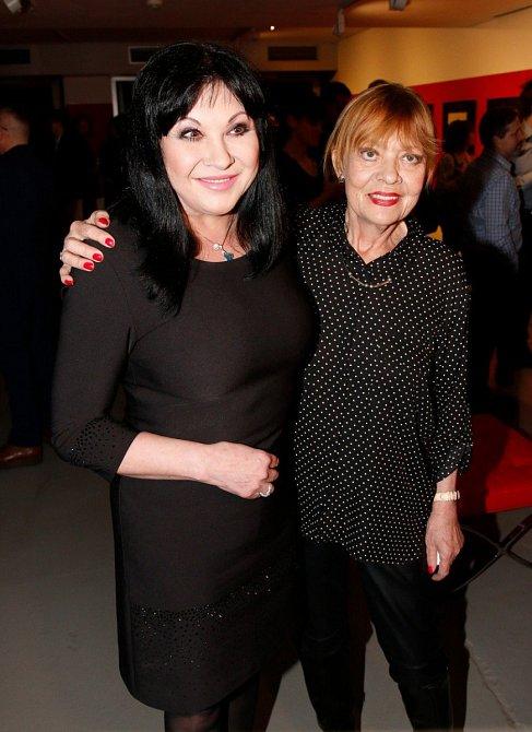 Jana Šulcová s Dagmar Patrasovou
