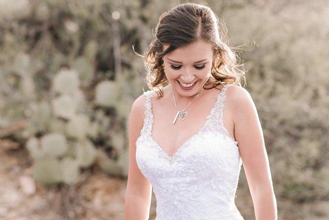 Novomanželského polibku se nedočkala v reálu.