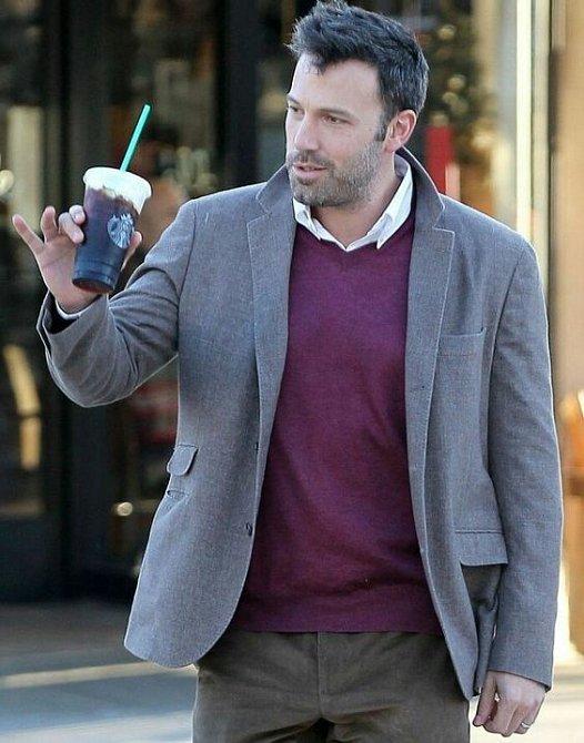 Vyměnil snad Ben Affleck alkohol za kávu?
