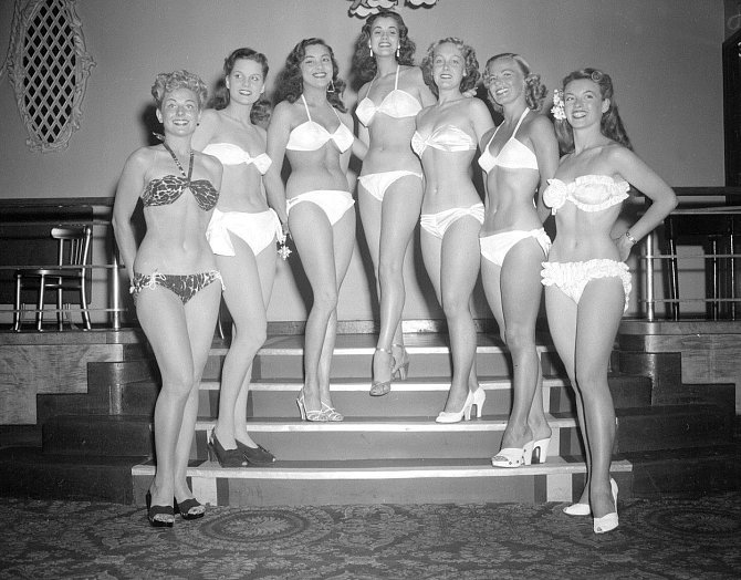 Finalistky Miss World - 27. 7. 1951