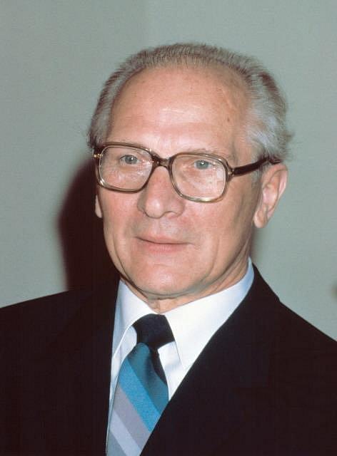 Erich Honecker, německý politik (1985, NDR)