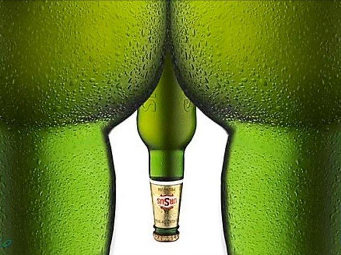 Tato reklama na pivo se buď hodně nepovedla, nebo je naopak výborná. Co myslíte?