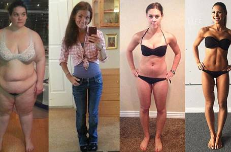 FOTOGALERIE: Těmto ženám se jednou provždy PODAŘILO ZHUBNOUT! A stačilo tak málo!