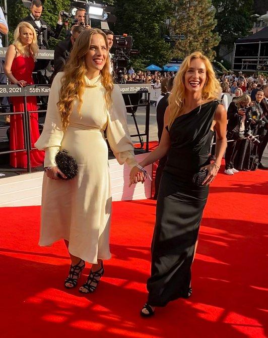 Herečky Petra Nesvačilová a Hana Vagnerová jsou kamarádky.