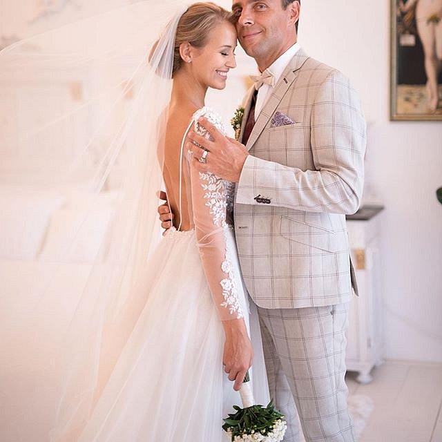 Manželé Vojtkovi pojali svatbu ve velkém stylu.