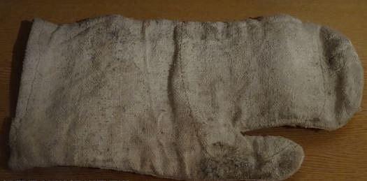 Azbestové rukavice...