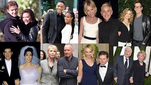 15 VIP párů, jejichž láska vydrží věčně!