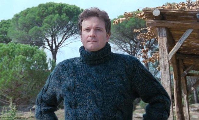 Colin Firth ve filmu Láska nebeská