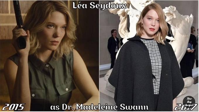 Herečka Léa Seydoux coby Madeleine Swann