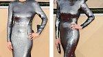Natalie Zea a Allison Janney měly modely od různých návrhářů, přesto vypadaly, že jsou oblečené téměř stejně.